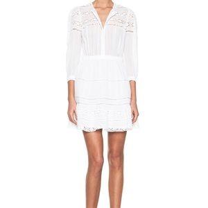 Chicwish White Lace Dress Size M